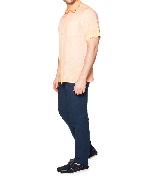 мужская рубашка 120% lino, сезон: лето 2015. Купить за 5100 руб. | Фото 3