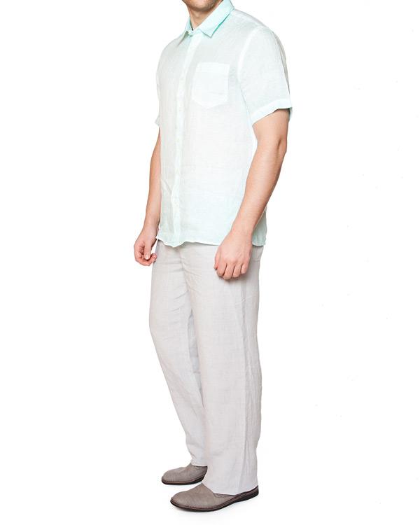 мужская рубашка 120% lino, сезон: лето 2015. Купить за 4100 руб. | Фото 3