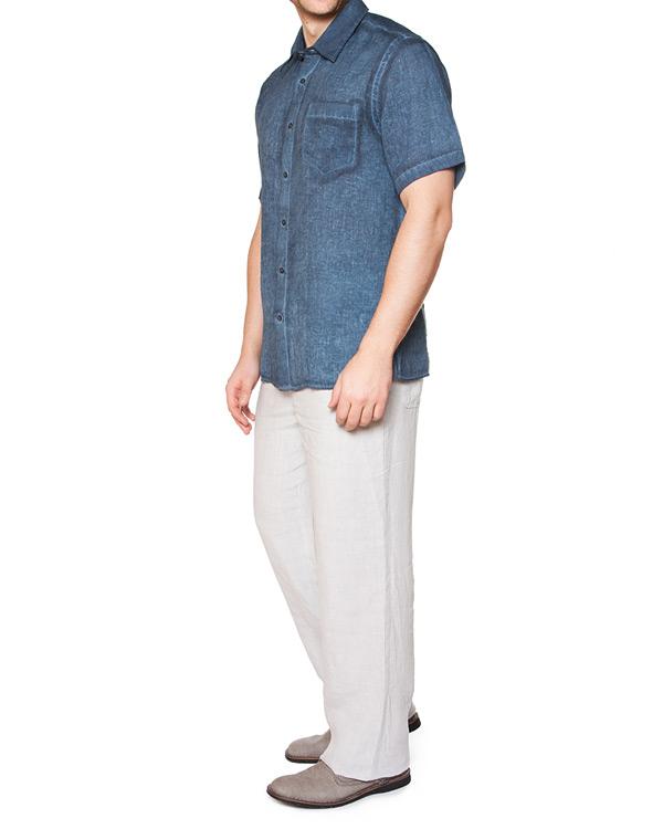 мужская рубашка 120% lino, сезон: лето 2015. Купить за 5100 руб. | Фото $i