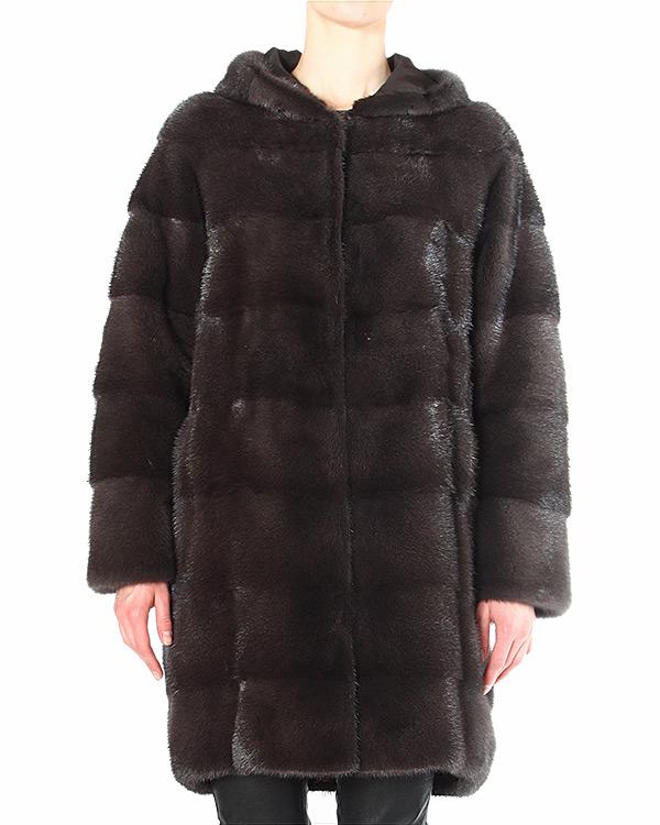 женская мех.пальто Manzoni, сезон: зима 2014/15. Купить за 272100 руб. | Фото 1