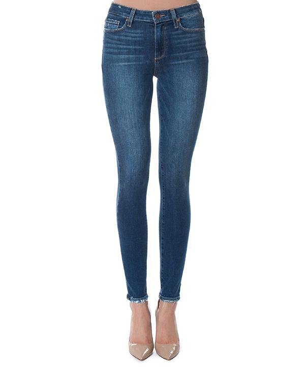 джинсы Skinny с посадкой на бедрах  артикул 1563984-4736 марки Paige купить за 17700 руб.