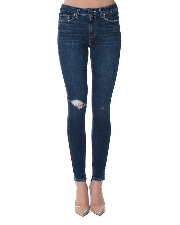 джинсы Skinny с посадкой на бедрах артикул 1563984-4784 марки Paige купить за 20300 руб.