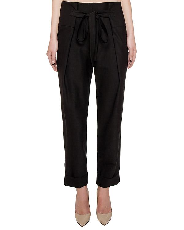 брюки прямого кроя на завязках артикул 160401B марки Sonia Speciale купить за 26000 руб.