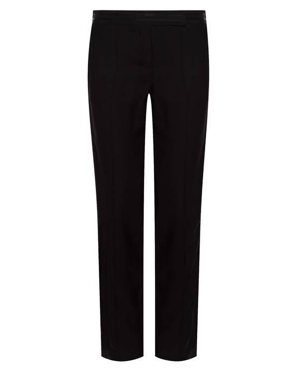 брюки из вискозы с лампасами в тон артикул 1610202 марки Amanda Wakeley купить за 42800 руб.