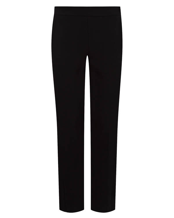брюки прямого силуэта из крепа артикул 1610210 марки Amanda Wakeley купить за 29600 руб.