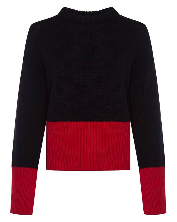 свитер крупной вязки из шерсти артикул 1610503 марки Amanda Wakeley купить за 42800 руб.