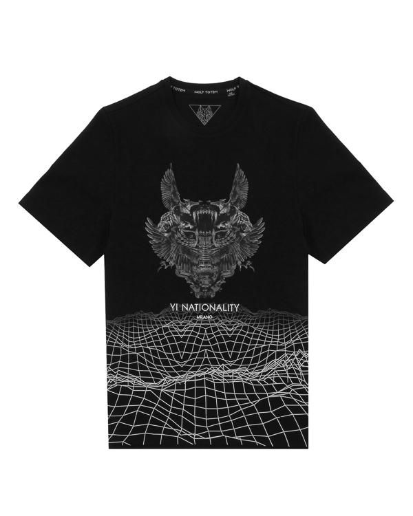 футболка  артикул 16AWTP-10 марки Wolf Totem купить за 6100 руб.