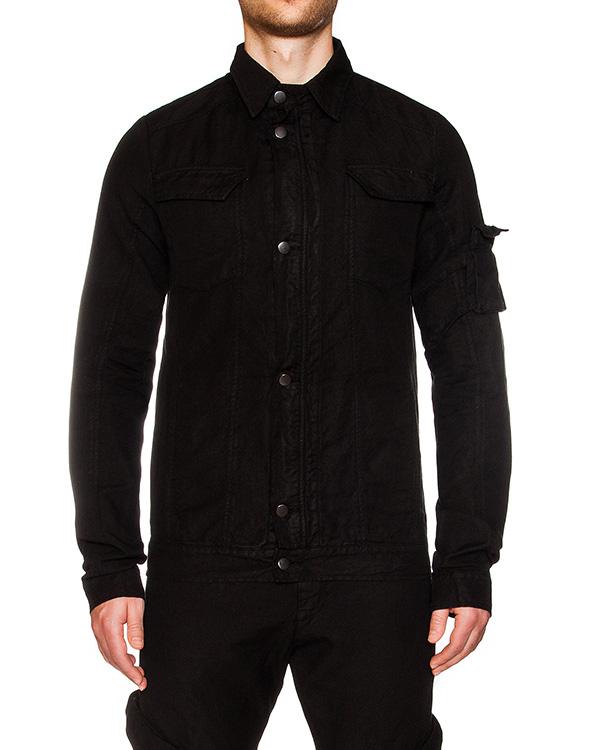 куртка из плотного хлопка, дополнена накладными карманами артикул 16MDAR37A марки Andrea Ya'aqov купить за 31900 руб.