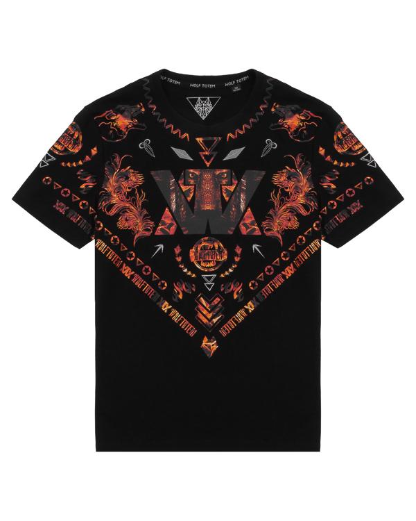 футболка  артикул 16WTP-26 марки Wolf Totem купить за 6100 руб.