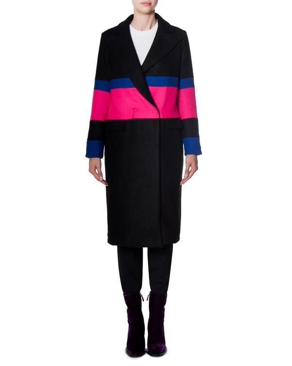 пальто из плотного шерстяного материала  артикул 17FR01 марки Front Street 8 купить за 20700 руб.
