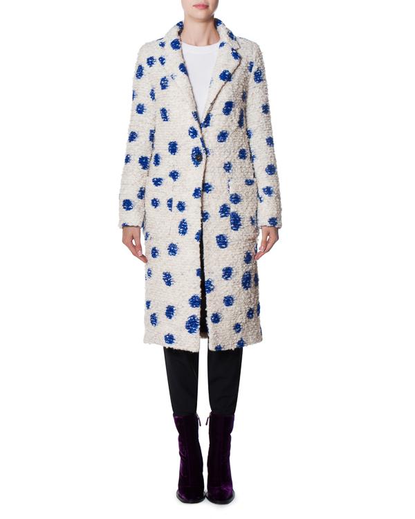 пальто Self service из буклированной шерсти артикул 17FR03 марки Front Street 8 купить за 20700 руб.