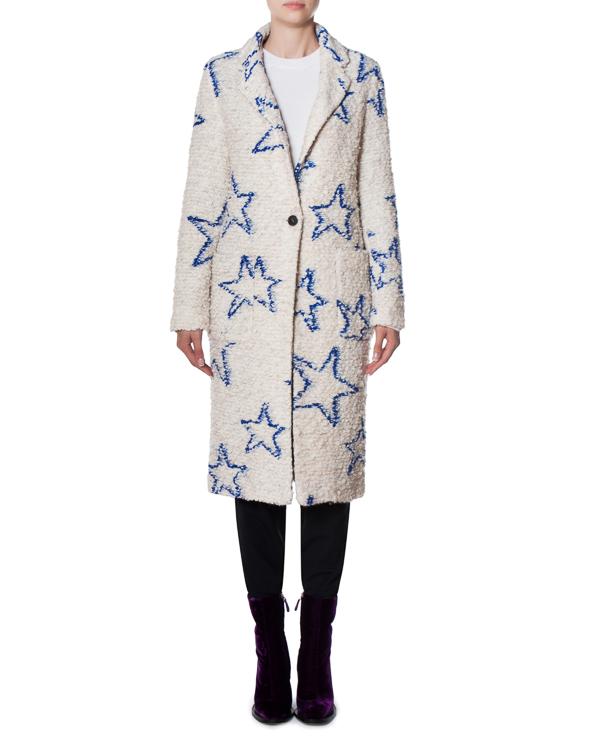 пальто Dreams из буклированного шерстяного материала артикул 17FR04 марки Front Street 8 купить за 20700 руб.