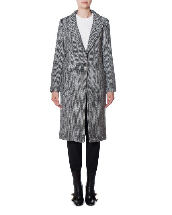 пальто Banana split из шерсти с аппликацией артикул 17FR09 марки Front Street 8 купить за 20700 руб.
