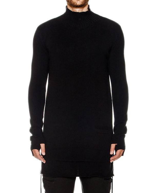 свитер удлиненного кроя из шерсти и кашемира артикул 17MMAG55 марки Andrea Ya'aqov купить за 23500 руб.