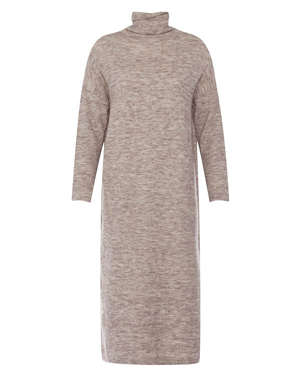 платье миди из мягкого трикотажа  артикул 17WK26 марки Colour 5 Power купить за 9600 руб.