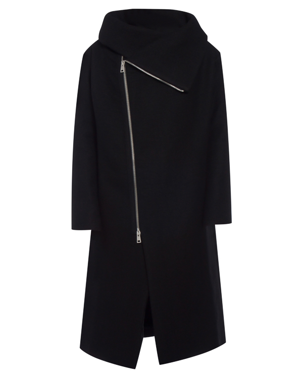 пальто из шерсти и льна артикул 18MGIN14 марки Andrea Ya'aqov купить за 49400 руб.