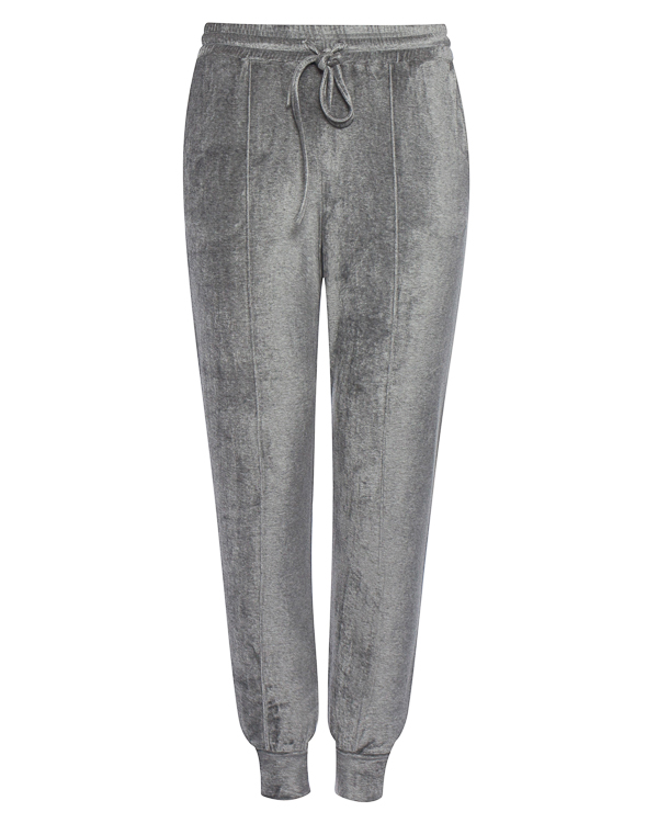 брюки спортивного кроя из бархата артикул 18WSYD43 марки Andrea Ya'aqov купить за 16900 руб.