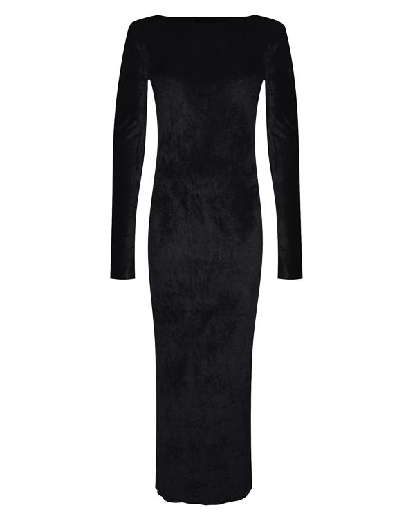 платье в пол с открытой спиной артикул 18WSYD47 марки Andrea Ya'aqov купить за 18000 руб.