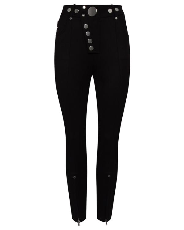 брюки из шерсти с высокой посадкой на талии артикул 1W274769E6 марки Alexander Wang купить за 44100 руб.