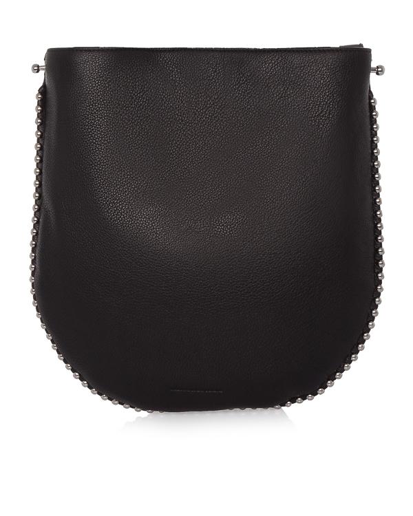 сумка из шагреневой кожи с металлической отделкой артикул 2027H0060L марки Alexander Wang купить за 39400 руб.