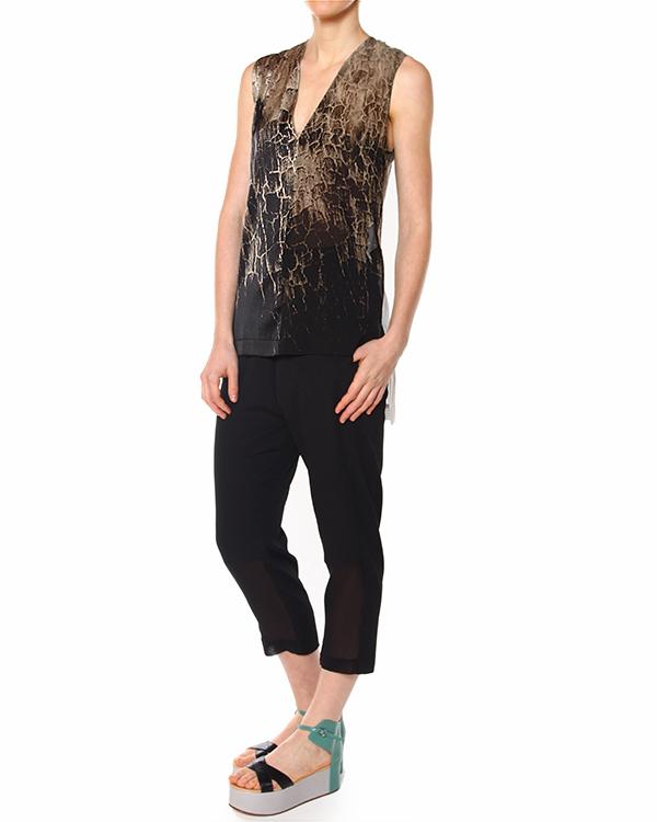 женская брюки ILARIA NISTRI, сезон: лето 2015. Купить за 13500 руб.   Фото 3