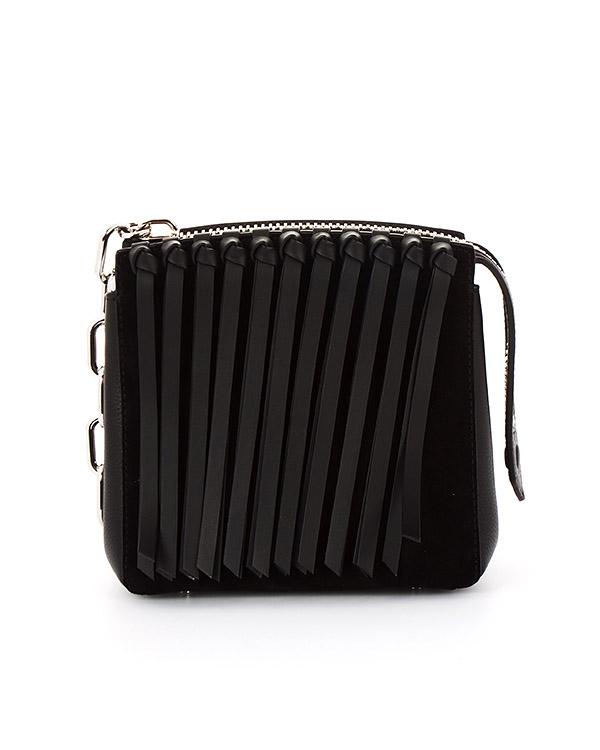 сумка из натуральной кожи с бахромой артикул 20R0472 марки Alexander Wang купить за 59500 руб.