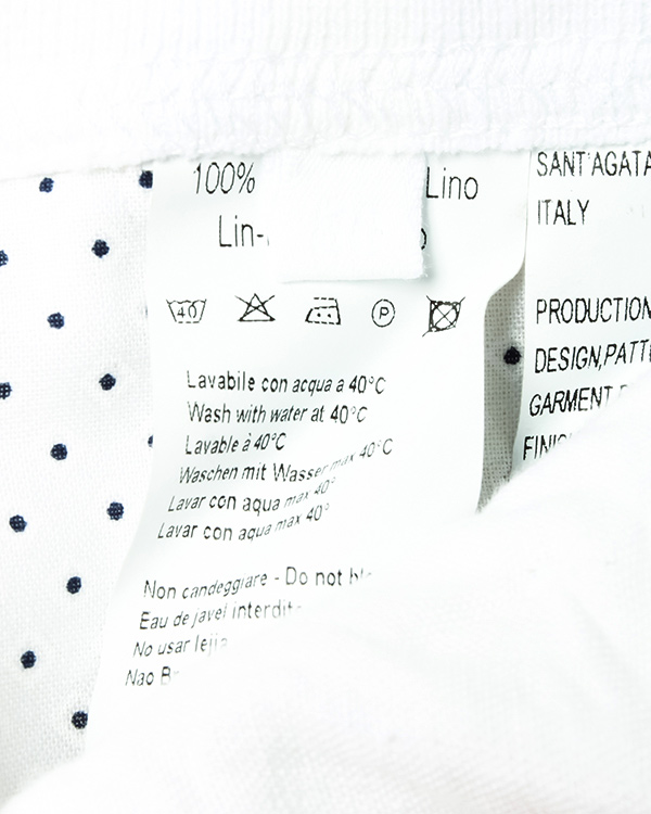 мужская шорты 120% lino, сезон: лето 2016. Купить за 6000 руб. | Фото 5