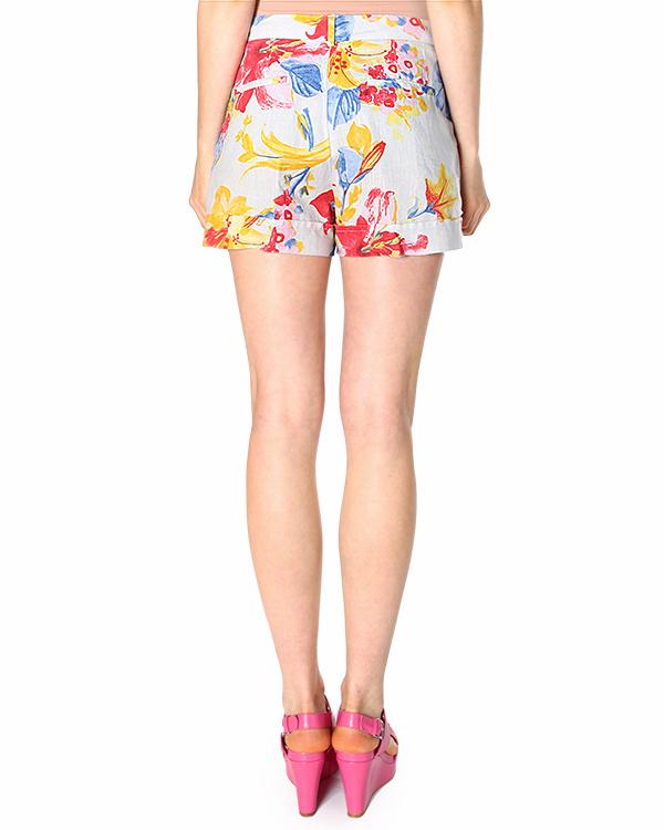 женская шорты 120% lino, сезон: лето 2015. Купить за 6000 руб. | Фото 2