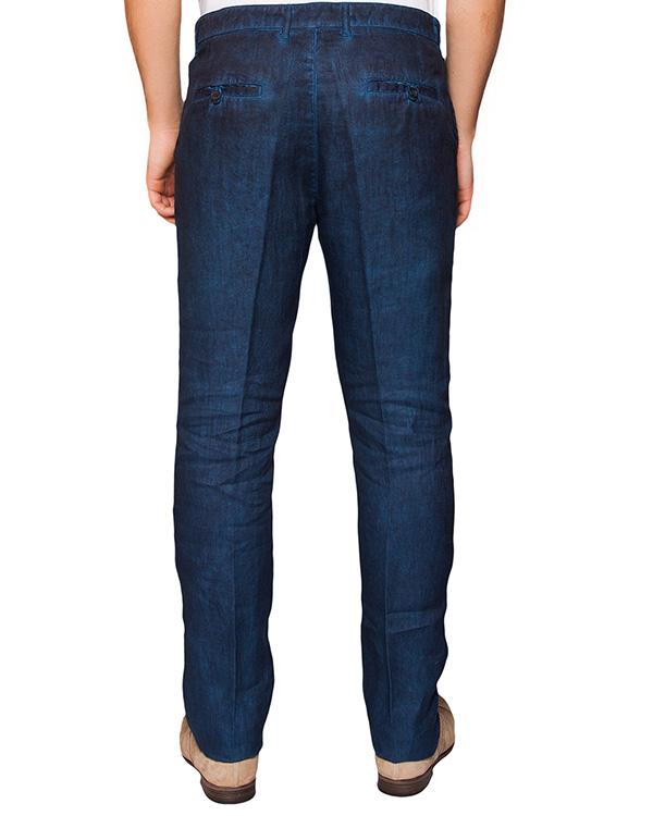 мужская брюки 120% lino, сезон: лето 2016. Купить за 7600 руб. | Фото 2
