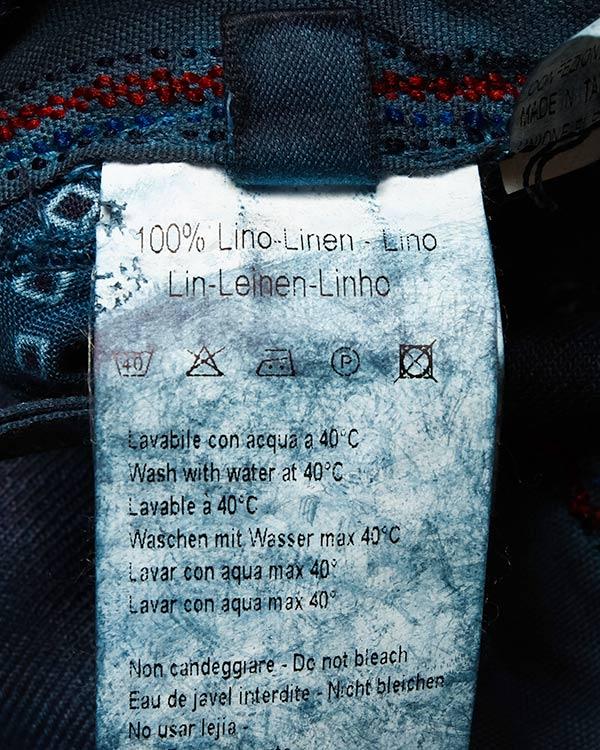мужская брюки 120% lino, сезон: лето 2016. Купить за 7600 руб. | Фото 5