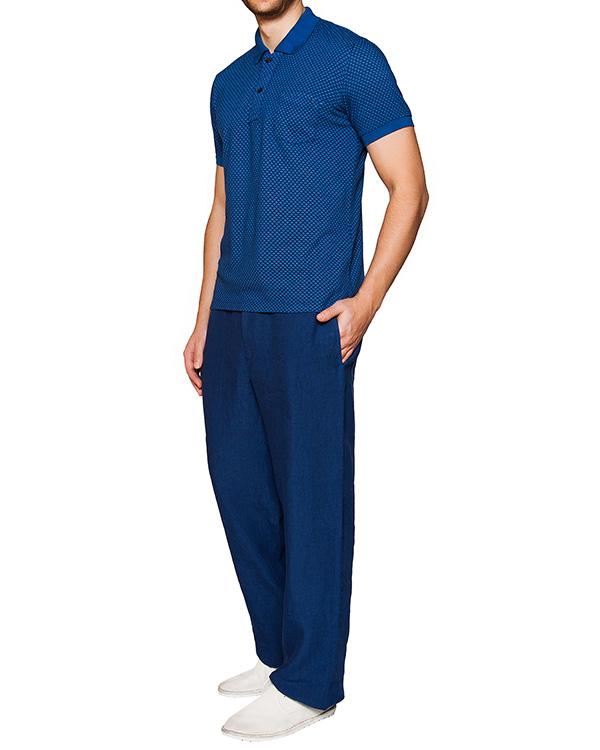 мужская брюки 120% lino, сезон: лето 2016. Купить за 6700 руб. | Фото 3