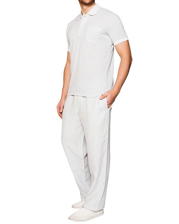 мужская брюки 120% lino, сезон: лето 2016. Купить за 13300 руб. | Фото 3
