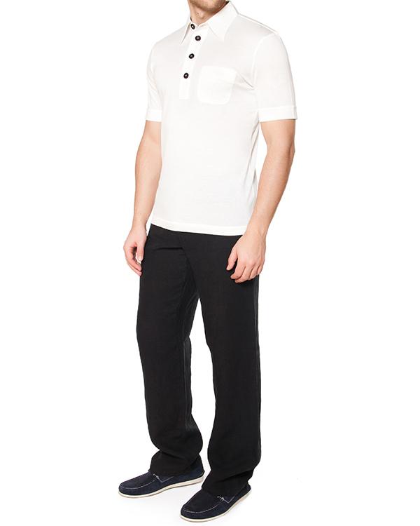 мужская брюки 120% lino, сезон: лето 2015. Купить за 6600 руб. | Фото 3