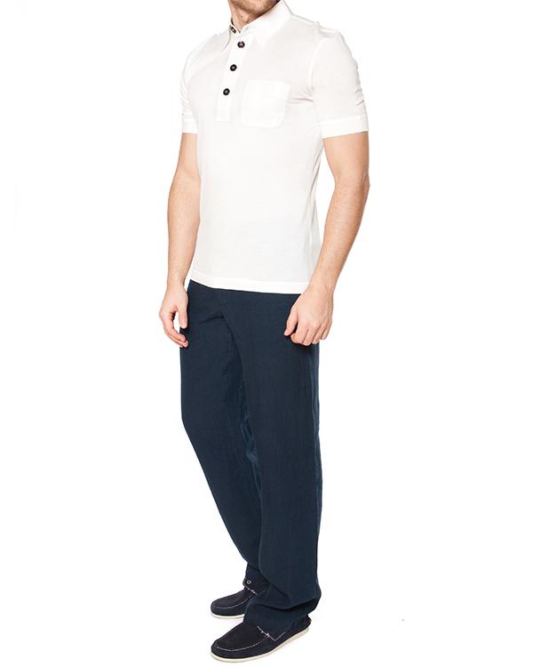 мужская брюки 120% lino, сезон: лето 2015. Купить за 13100 руб. | Фото 3