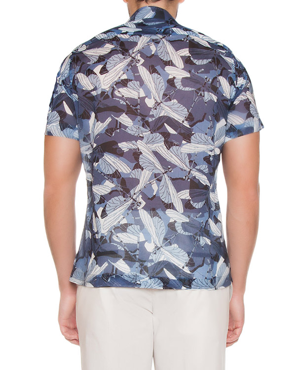 мужская рубашка Cortigiani, сезон: лето 2017. Купить за 18600 руб. | Фото $i
