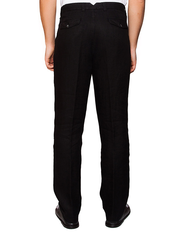 мужская брюки 120% lino, сезон: лето 2016. Купить за 7200 руб. | Фото 2