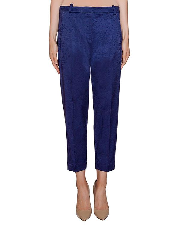 брюки прямого кроя из плотной фактурной ткани артикул 22PY954/21 марки ILARIA NISTRI купить за 11900 руб.