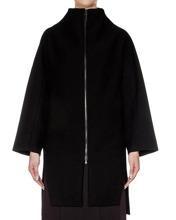 пальто свободного кроя из плотной шерсти артикул 23JY117-1 марки ILARIA NISTRI купить за 51800 руб.