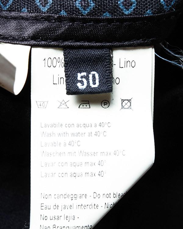 мужская брюки 120% lino, сезон: лето 2016. Купить за 6900 руб. | Фото 5