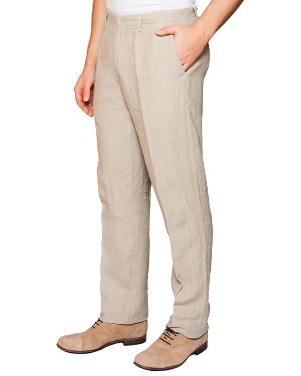 мужская брюки 120% lino, сезон: лето 2016. Купить за 6900 руб. | Фото 1