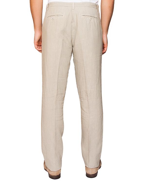 мужская брюки 120% lino, сезон: лето 2016. Купить за 6900 руб. | Фото 2