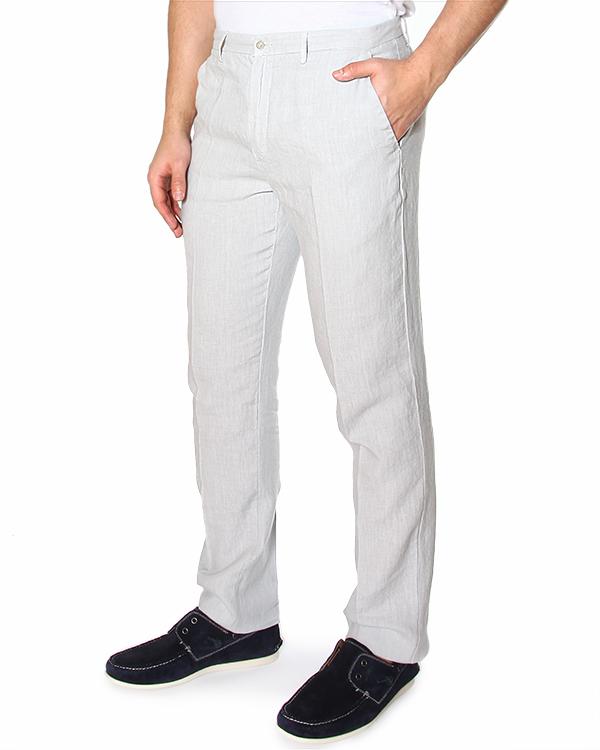 мужская брюки 120% lino, сезон: лето 2015. Купить за 6800 руб. | Фото 1