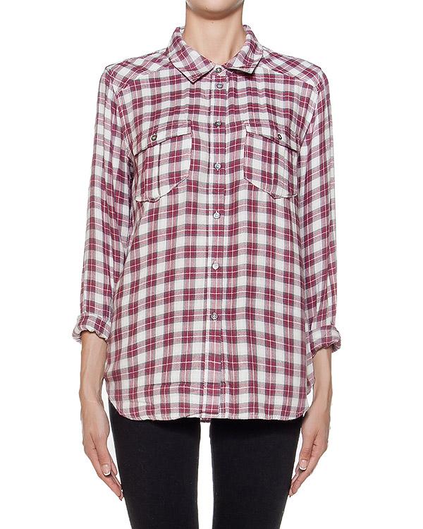 рубашка прямого кроя в клетку артикул 2427912-3493 марки Paige купить за 16900 руб.
