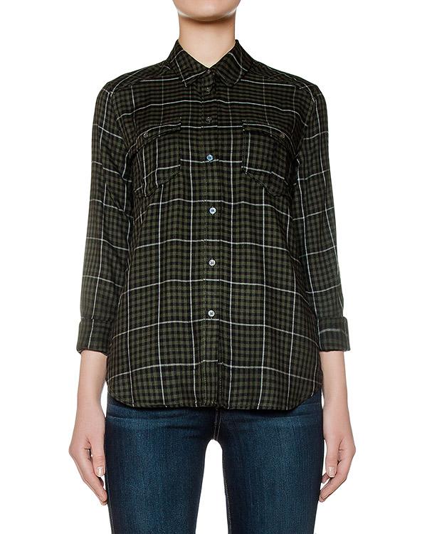 рубашка из мягкого трикотажа в клетку артикул 2427913 марки Paige купить за 12500 руб.