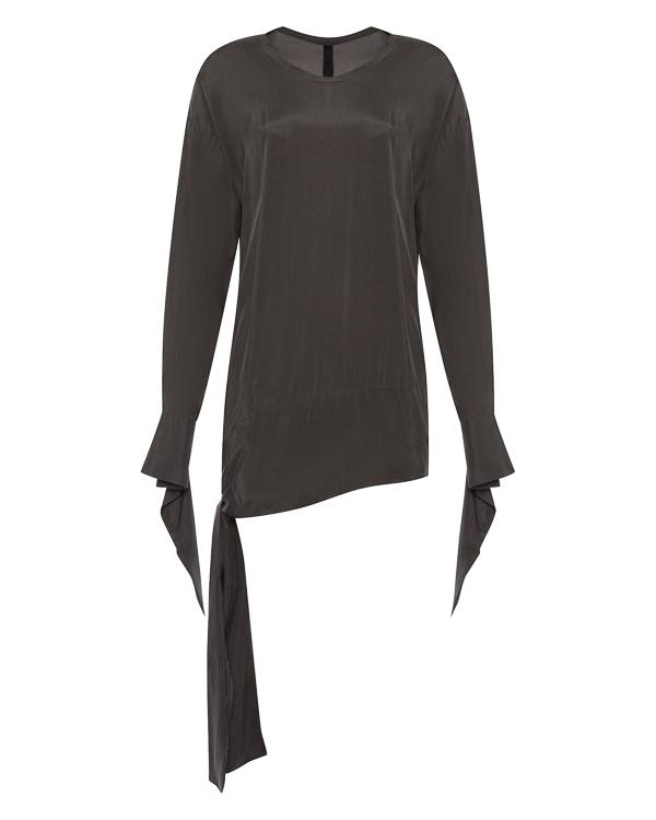 блуза из тонкого неэластичного материала купро артикул 25CY461/23 марки ILARIA NISTRI купить за 22000 руб.