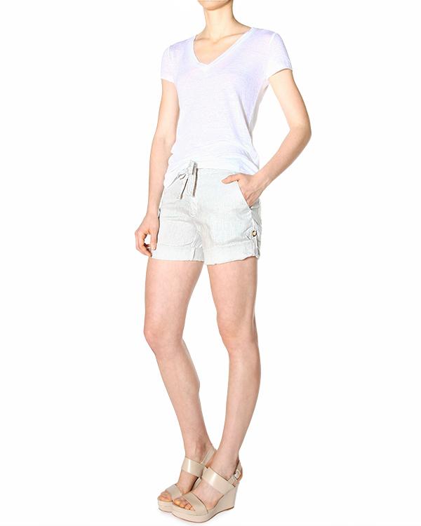 женская шорты 120% lino, сезон: лето 2015. Купить за 5600 руб. | Фото 3
