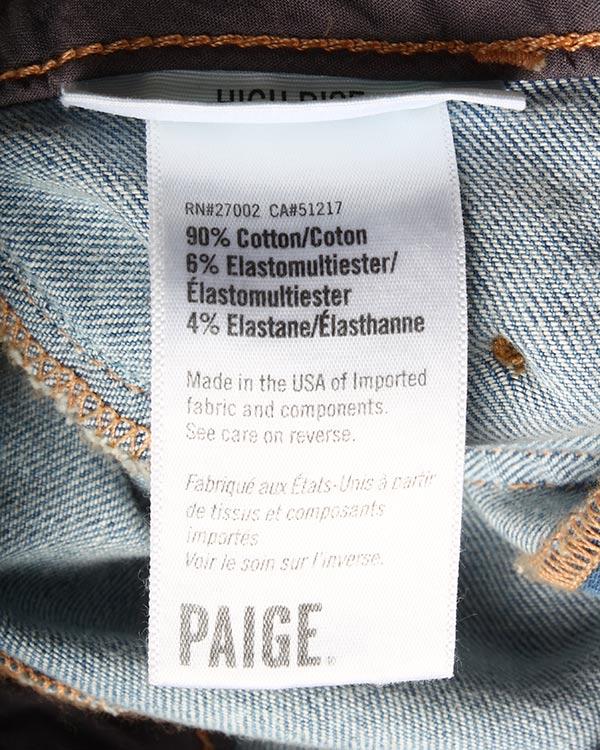 женская джинсы Paige, сезон: лето 2016. Купить за 27100 руб. | Фото $i