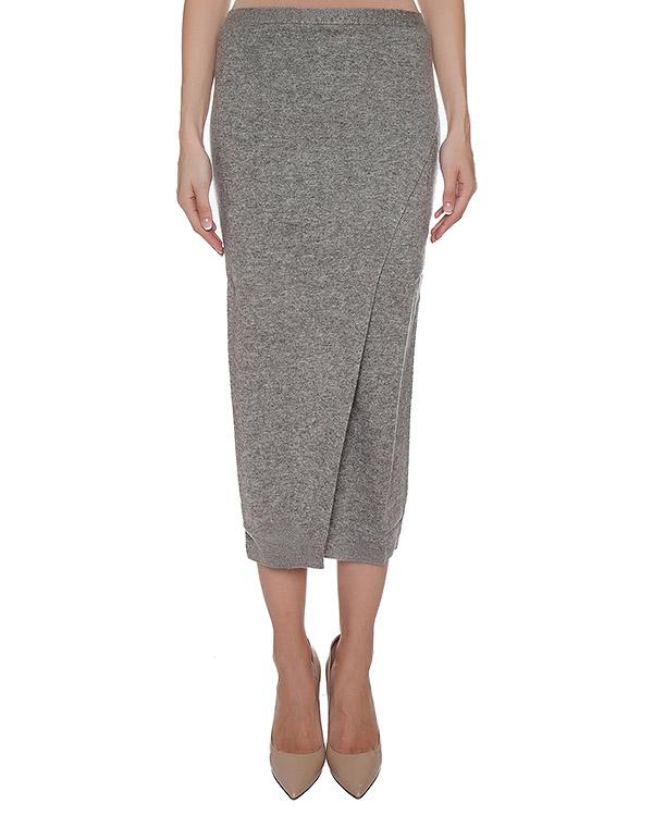 юбка из мягкого кашемира с запахом артикул 2902020C марки Not Shy купить за 17400 руб.