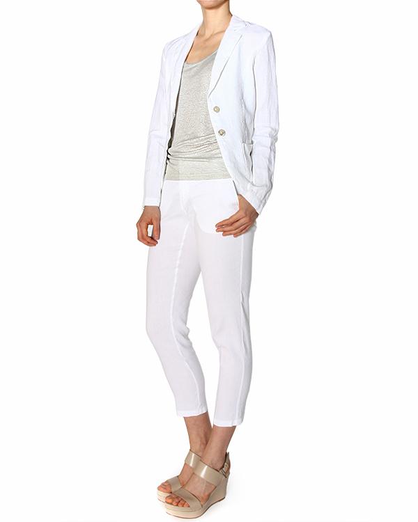 женская брюки 120% lino, сезон: лето 2015. Купить за 7600 руб. | Фото 3