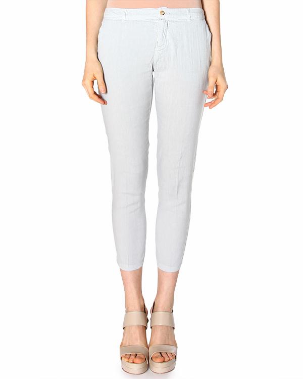 женская брюки 120% lino, сезон: лето 2015. Купить за 7600 руб. | Фото 1